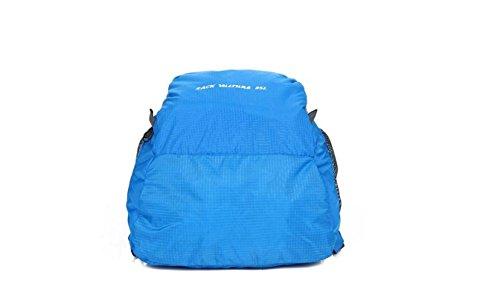 LQABW Ultra-light Can Be Haut Mountaineering Eintritt Gefaltete Außen Männer Und Frauen Modelle Wandern Rucksack Tasche Black