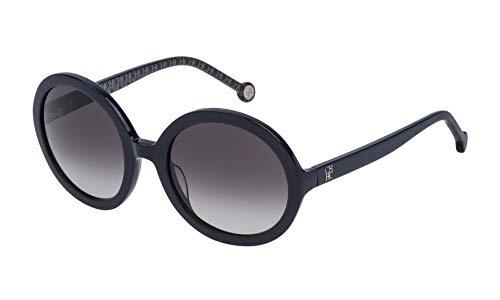 Carolina Herrera SHE696530D82 Gafas de sol Azul 53 para Mujer