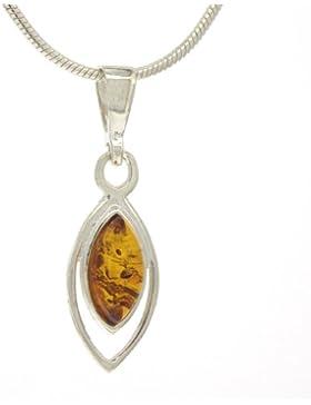Nova Silver Damen-Halskette mit Anhänger Sterling-Silber 925 P4705