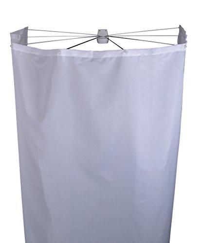 *Ridder Duschfaltkabine Ombrella Textil Madison weiß 210×180 cm*