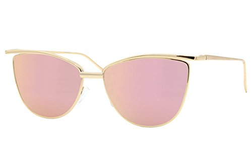 cheapass-sonnenbrille-cat-eye-rose-gold-verspiegelt-designer-brille-uv400-metall-damen-frauen-madche