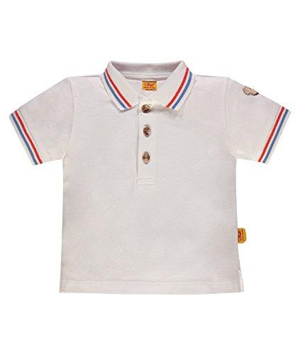 Steiff Collection Jungen Poloshirt 1/4 Arm 6832701, Weiß (Bright White 1000), 62 Preisvergleich