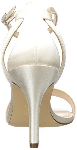 Nina Venetia Femmes Synthétique Sandales Ivory Crystal