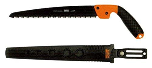 Bahco 4128-JT-H Astsäge mit Holster 280mm 7 ZpZ, Schwarz/orange, 66x14x8.5 cm -