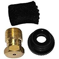 Gardena Sprinklersystem Entwässerungsventil, Zubehör für T-Stück 25 mm x 3/4 Zoll Innengewinde, für automatische Bewässerung bei Außerbetriebnahme der Sprinkleranlage zum Frostschutz, 2760-20