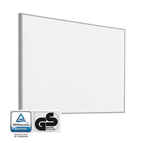 TROTEC Panneau à infrarouge TIH 900 S rayonnant infrarouge chauffage – 900 W - avec support pour fixation murale