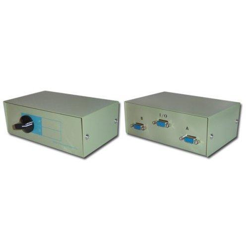 2 Port / Way VGA Monitor Switch Box Test