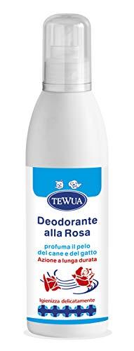 Tewua Deodorante alla Rosa per cani gatti cuccioli e ambienti - P21721