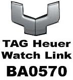 OEM etiqueta Heuer Enlace Único de acero inoxidable cepillado | modelo BA0570