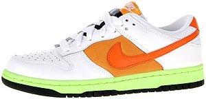 Nike women's dunk low white orange blaze shock orange US 8 M