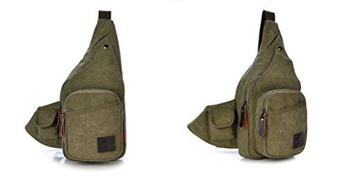 Baymate Unisex Allaperto Tattico Militare Sportivo Trekking Spalla Zaino Esercito Verde