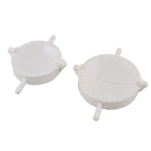 Gnocchi muffa - SODIAL(R) 2 pezzi di plastica bianco Meat