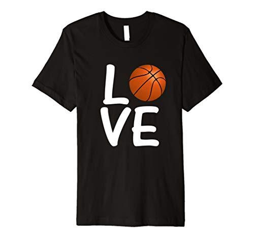 Kostüm Junge Spieler Basketball - Liebe Basketball Sport Fitness Ball Weihnachtsgeschenk Shirt