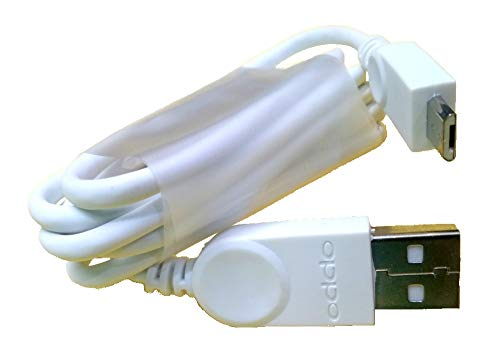Duisah Compatible Original Charge and Data Sync Cable for Oppo F1s-White-1 Metre