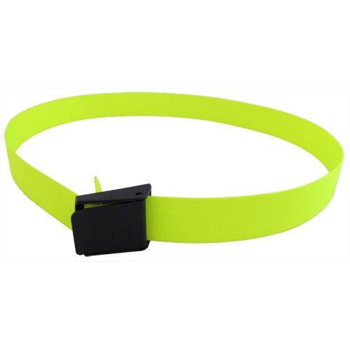 Scuba Wahl Tauchen 152,4cm lang 5,1cm Gurtband Gewicht Gürtel mit Kunststoff Schnalle, Gelb