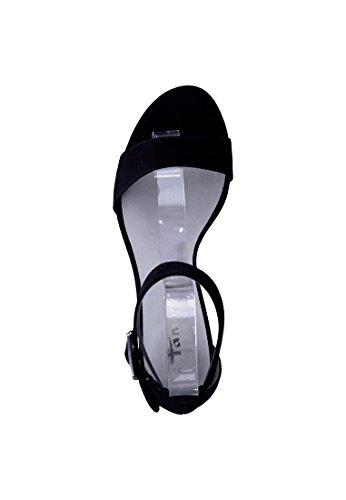 Tamaris Strappy sandalo a tacco alto sandalo oro Glamour 1-28303-27 944 Oro Glam Black