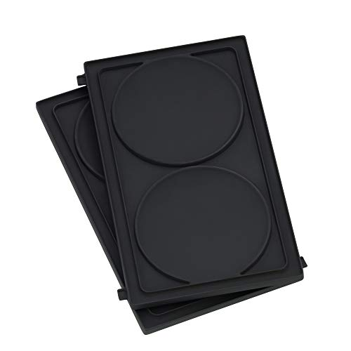 WMF Lono Snack Master Pancake Platten-Set, Zubehör, 2 abnehmbare Plattensets, antihaftbeschichtet