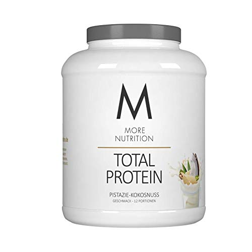 More Nutrition Total Protein - Whey & Casein Zur Optimalen Proteinsynthese 1 x 600 g (Vanille Icecream)