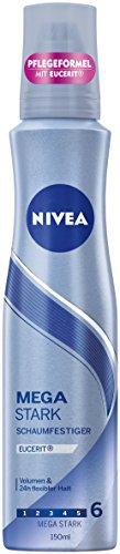 NIVEA 3er Pack Schaumfestiger, 3 x 150 ml Dose, Mega Stark