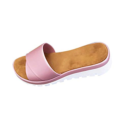 Clacce Bunion Splints,Sandalen Pantoletten Zehentrenner Hausschuhe Sommer Strand Schuhe Flach Flip Flops Damen Big Toe Hallux Valgus Unterstützung Plattform Sandale Schuhe Für Die Behandlung Plattform Thong Sandal