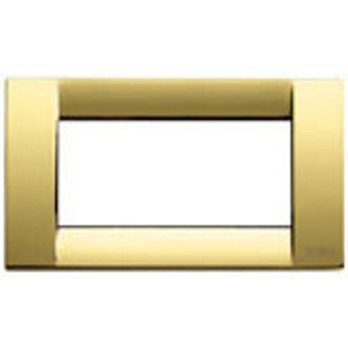�Platte Classica 4Module Metall gold glänzend ()