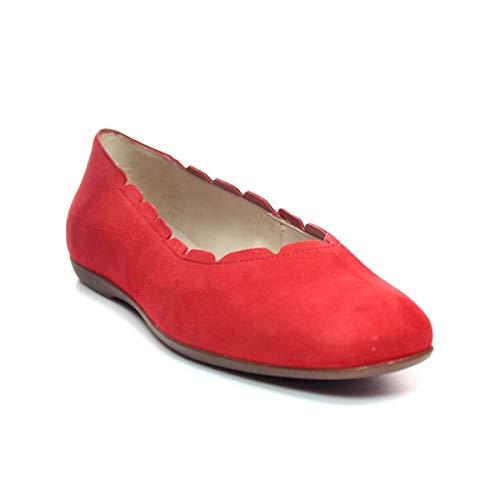 WONDERS Bailarina Ondas Mujer Rojo 36
