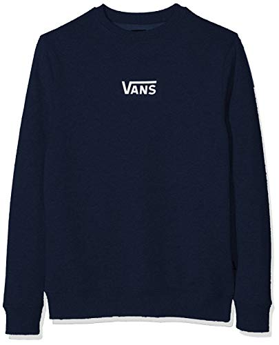 Vans Herren French Terry Classic Crew Sweatshirt, Blau (Dress Blues Lkz), Small - Classic Crew-pullover