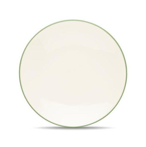 Noritake Colorwave Coupe Salad/Dessert Plate, Apple Green by Noritake (Green Coupe Apple)