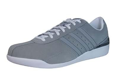 adidas Porsche 550 RS hommes Cuir chaussures / Chaussures - gris, Grey, 39 EU