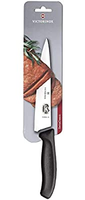 Victorinox 12 cm Swiss Classic Chef's Knife in Blister Pack, Black