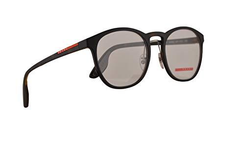Prada Männer PS05HV Brillen 53-20-145 w/Demo-Raum-Objektiv US11O1 VPS 05H PS 05HV VPS05H Havana Rubber groß