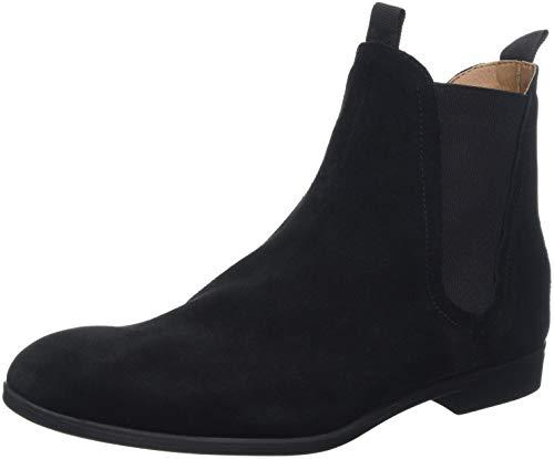H by Hudson Herren Atherstone Chelsea Boots, Schwarz (Black 01), 42 EU