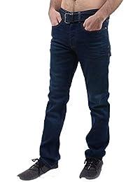 Crosshatch Mens Cuarzo Jeans Dark Wash
