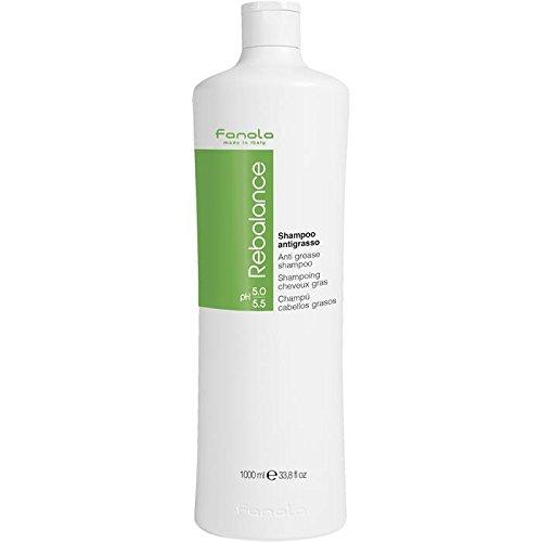 Fanola Rebalance Anti grease Shampoo - gegen fettendes Haar, 1 l