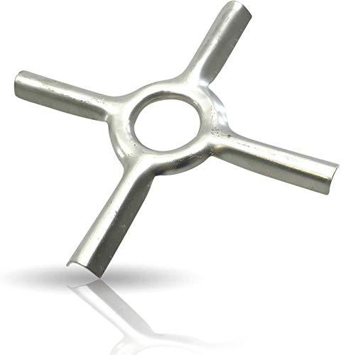 Kerafactum Gasherd Aufsatz Gasherdaufsatz Gasherd Stern Gasherdkreuz Reduzierstern für Campingkocher idealer Untersetzer für Topf und Pfanne Topfträger Pfannenträger