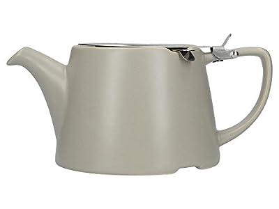 London Pottery Company 43240 Théière ovale avec infuseur pour thé en vrac, grès