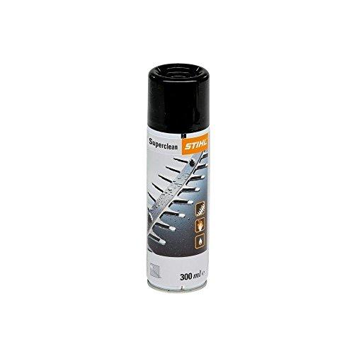 Stihl Harzlöser-Harzentferner Superclean 300ml Spray zum lösen/entfernen von Harz, Hochwertiges Reinigungs- und Schmiermittel für Schneidgarnituren, Heckenscherenmesser und Motorsägen-Kettensägen, Stihl Harzlöser Superclean 300ml
