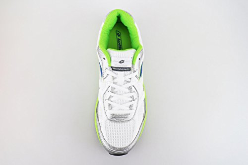 LOTTO sneakers uomo tessuto pelle Bianco/Verde
