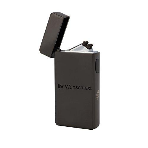 TESLA Lighter T13 | Lichtbogen Feuerzeug, mit Wunsch-Gravur, personalisiert als Geschenk zu Weihnachten, Geburtstag etc. Elektronisches Feuerzeug, wiederaufladbar per USB inkl. Geschenkverpackung