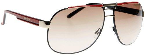 Carrera DAKAR 1 BKGD RDBK/CR-BROWN SHD Sunglasses (DAKAR-1-V14-ID-62-13-135)