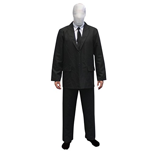 Morphsuits Slenderman Costume Large (Slenderman Kostüm)