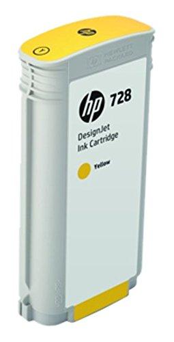 HP 728 F9J65A Cartouche d'encre d'origine Jaune