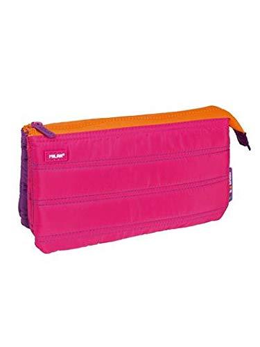 Portatodo Milan Colours Pink con 5 Compartimentos