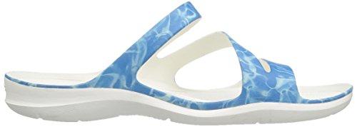 204461 Swiftwater Graphic Sandal Womens - 6JL Pink/Floral Bleu