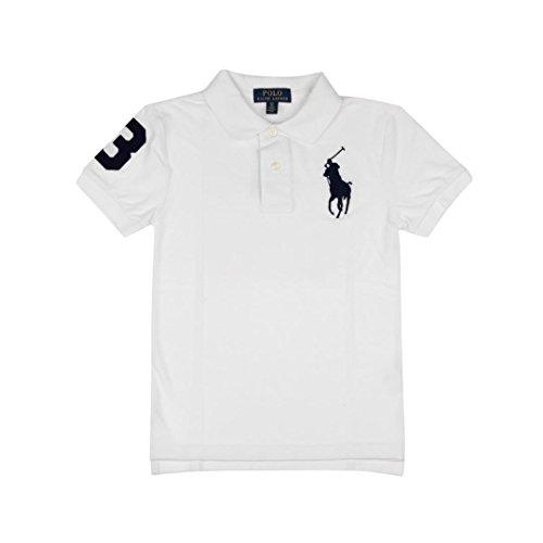 Ralph Lauren Childrenswear Polo in piqué di Cotone Custom-Fit Bambino Junior Boy Mod. 323694738 - Ralph Junior Lauren Polo-shirt