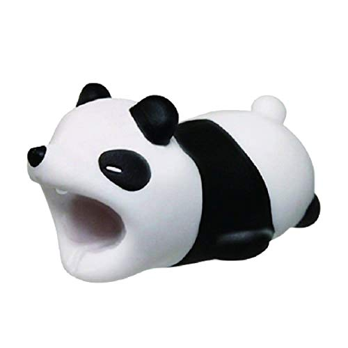 osmanthusFrag Kabelschutz Cord Halter Saver Organizer Dekor Schöne Cartoon Tierform für Handy Panda -