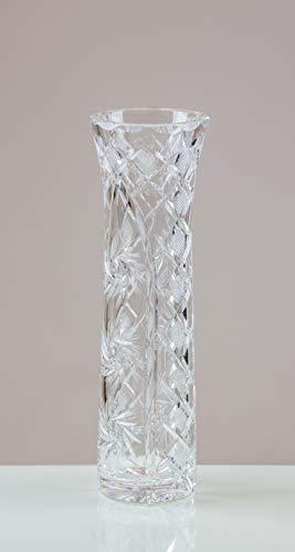 Victoria Kristall Serenity Flower Vase 24% geschliffenes Bleikristall 100% Handgefertigt Cut Punch Bowl