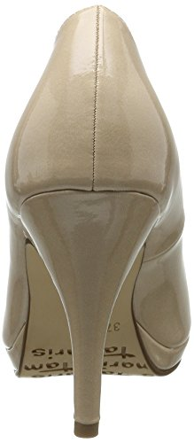 Tamaris22417 - Decolleté chiuse Donna Beige (CREAM PATENT 452)