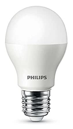 Philips LED-Lampe (ersetzt 60 Watt), EEK A, E27 2700 Kelvin - warmweiß, 9 Watt, 806 Lumen