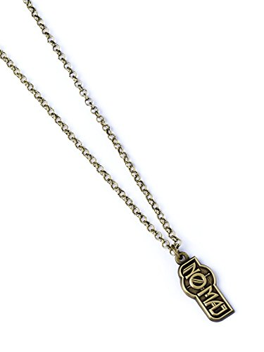 Fantastic Beasts Pendant & Necklace No-Maj (antique brass plated) Other Pendenti Collane